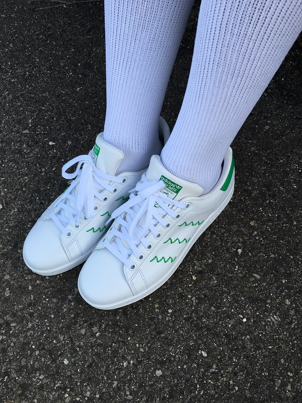 White Green Stan Smith