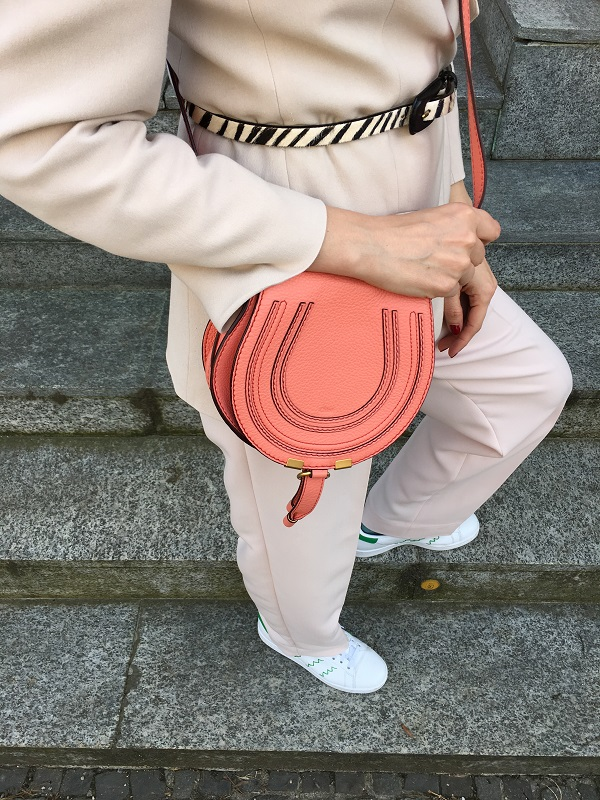 Peach Echo Chloe bag