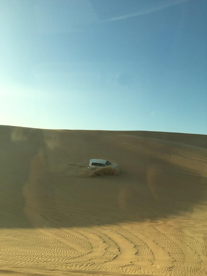 пустыня Абу Даби