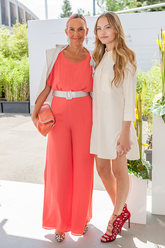 Wie kommt man auf die Fashion Week ИЛИ как попасть на Неделю Моды? Natascha und Cheyenne Ochsenknecht