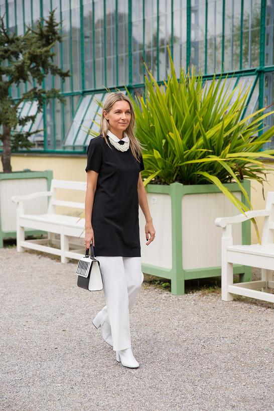 Black and white ИЛИ Черное и белое - смело носим классику.